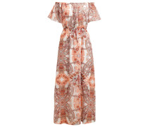 Maxikleid peach nougat