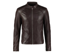 LENI Lederjacke brown