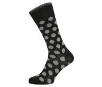 TYLER Socken black/grey heather