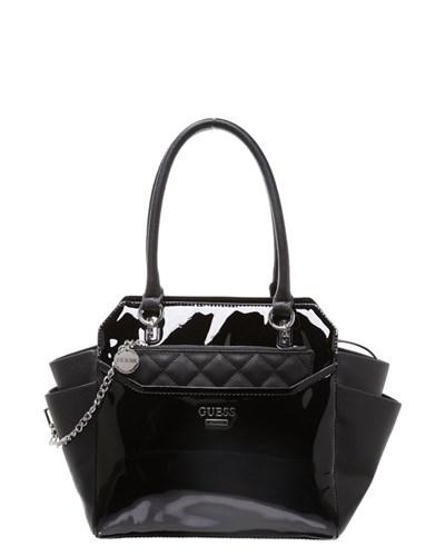 guess damen guess handtasche black reduziert. Black Bedroom Furniture Sets. Home Design Ideas