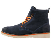 STIRLING Schnürstiefelette navy