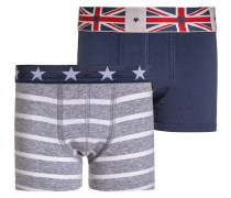 LONDON 2 PACK Panties washed blue