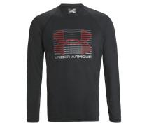 RISE UP Langarmshirt black/graphit/red