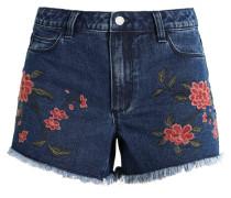 VICARIA - Jeans Shorts - dark blue denim