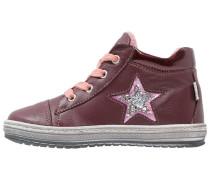 Sneaker high bordeaux