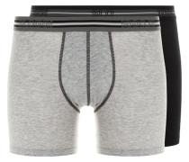 SPORTS 2PACK Panties grau/schwarz