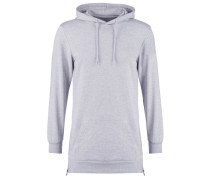 Kapuzenpullover heather grey