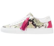Sneaker low light green/rose