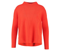 Strickpullover orange