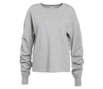 OBJAGOURA - Sweatshirt - light grey melange