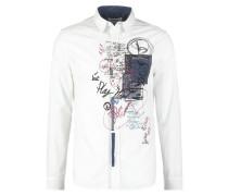 REGULAR FIT Hemd blanco