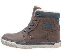 Sneaker high dark brown/dark blue