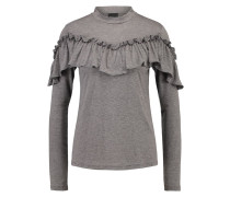 SFANNA - Langarmshirt - medium grey melange