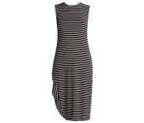 NIDERA - Jerseykleid - black/white
