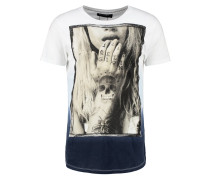TEMPTED - T-Shirt print - white/baby blue