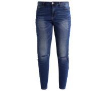 JRFIVE - Jeans Skinny Fit - dark blue denim