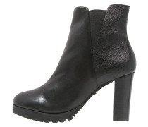 High Heel Stiefelette nero