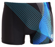 VIBORG Badehosen Pants black/turquoise