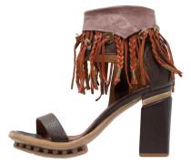 CALMORA High Heel Sandaletten choco