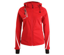 Softshelljacke - red/white