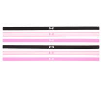 6 PACK Mütze pink/black/white