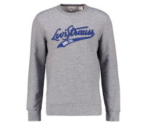 GRAPHIC CREW B Sweatshirt midtone heather grey