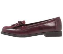 Slipper - burgundy