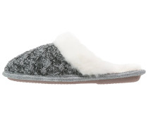 Hausschuh grijs