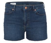 JANNIE - Jeans Shorts - heavy stone wash