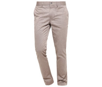 CHAZE Stoffhose grey/brown
