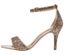 MORAA - High Heel Sandaletten - bronze