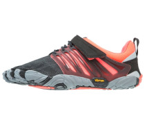 V-TRAIN - Trainings- / Fitnessschuh - black/coral/grey