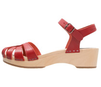 DEBUTANT Clogs red
