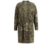 POWEL CRUSADER SHIRT DRESS L/S - Freizeitkleid - dark shamrock/combat