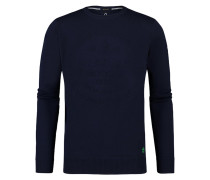PRESS - Strickpullover - dark blue