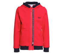 Sweatjacke pop red