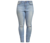 JRFIVE Jeans Slim Fit light blue denim