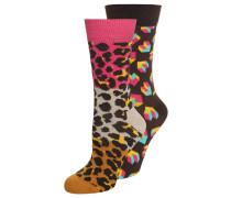 2 PACK Socken pink