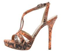 High Heel Sandaletten light orange