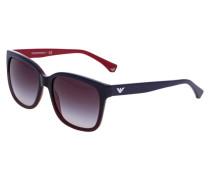 Sonnenbrille blue/red