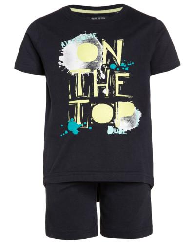 SET - T-Shirt print - dunkelblau