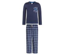 LONGBOARDS Pyjama washed blue