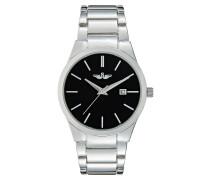 Uhr silvercoloured/black