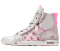 JOMAR - Sneaker high - pink/cinza