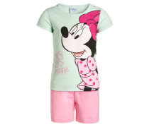 MINNIE MOUSE SET Shorts mint/rosa