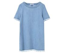 ALMEDIA Jeanskleid medium blue