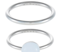 2 PACK - Ring - silver