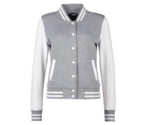 Leichte Jacke grey/white