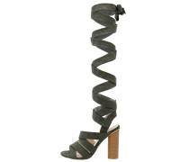 High Heel Sandaletten khaki