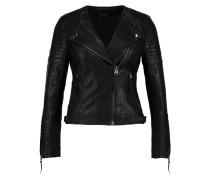 NELLY - Kunstlederjacke - black